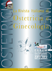 La Rivista italiana di Ostetrica e Ginecologia N.20